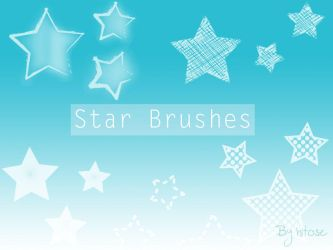 Star brushes by hitose