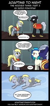 AtN: The Hooves Twins -  Part 3 by Rated-R-PonyStar