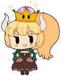 Bubblegum Cheeb Bowsette by ScarletDestiney