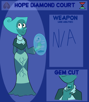 GDA - Dark teal Zircon by TryingTheBest