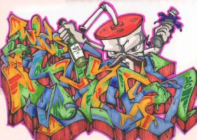JUICE -Strata battle- by wics2