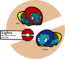 Fake Pokemon: Lighva