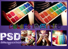 Colors In My Life PSD by ILikeTheWayYouAre