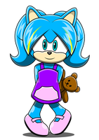 Zeanna The Hedgehog by Arung98