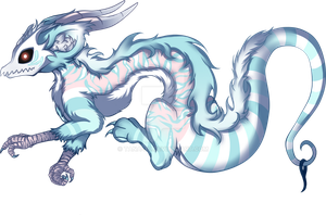 CLOSED Mint pastel Loki Dragon character adopt by TaNa-Jo