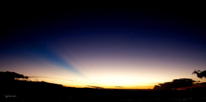 Sunset over Bogota by Peregrijn
