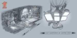 Ship Interior Concept 1 by PeNcIl-ReBeLlIoN