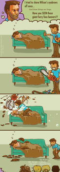 House MD: Hedge Clipping by AquaticFishy