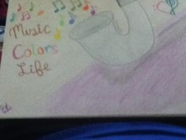 Music Colors Life- Bass Clarinet by DramaQueen56