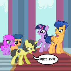 She's Evil! by PaulySentry