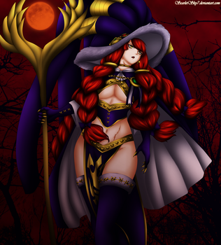 Eileen Belserion the scarlet despair by ScarletSky7