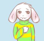 Asriel uses Cute -- It's Extremely Effective! by AngelOfSatire