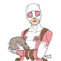 GwenPool - Fanart by B-on-D