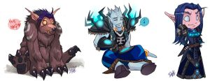 WoW Minis by DOXOPHILIA