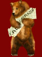 California Bear Tattoo Commission by Questionablexfun