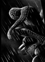 The fall of spiderman.... by latent-talent