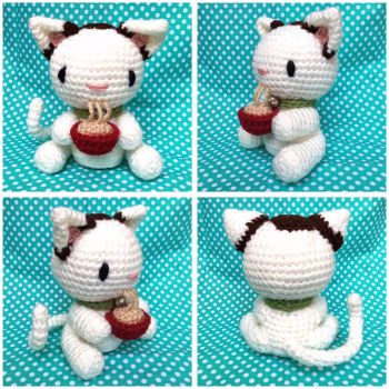 Noodle Cat by TheArtisansNook