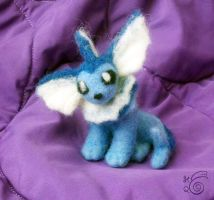 Vaporeon - Felted +REDONE+ by TheHarley