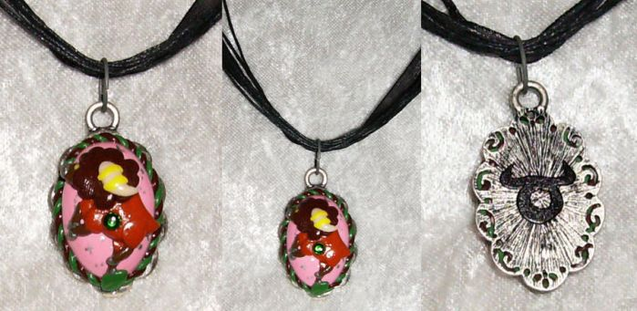 Bouffalant Taurus Necklace by LaPetitLapearl