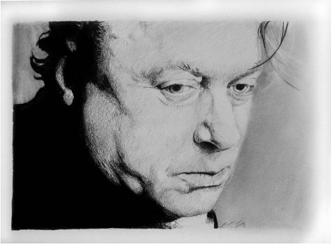 Christopher Hitchens by satan666v