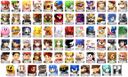 A Smash Roster by Pixiy
