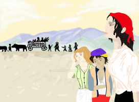 Travelling people by mari6s