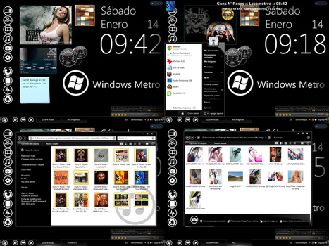 Windows 8 Metro GXP For Windows XP by DeMoNBL4dE