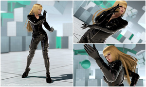 Lili Leather Suit [Tekken 7 PC mod] by Abrikatin