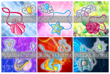 Alix Club's Charmix Charms by Andy-Dorinka