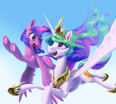 Back in the sky by NadnerbD