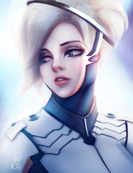 Mercy | Overwatch 2017 by SthellaPeragi