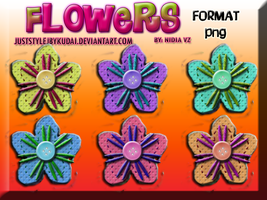 Flowers PNG pack 005 by juststyleJByKUDAI