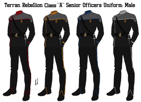 Terran Rebellion Senior Officers Class A Uniform by docwinter