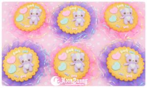 Sugary cookie Brooch by CuteMoonbunny