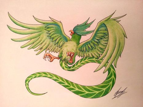 Articuno: Grass-type by Abz-Art
