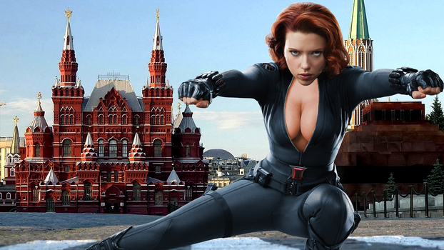 Black Widow Returns Home by Randicus