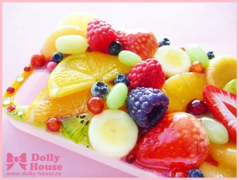 iPhone 5 case -Fruits Symphony- by Dolly House by SweetDollyHouse