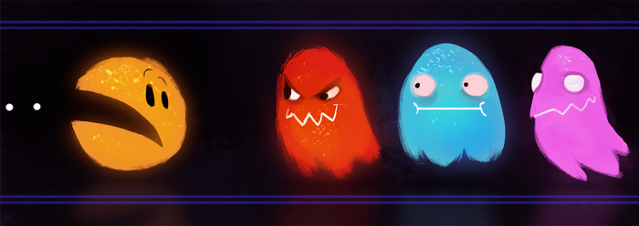 DAY 361. Pac Man by Cryptid-Creations