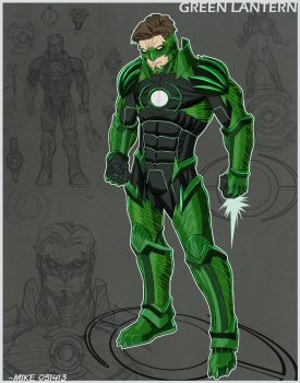 Project Rooftop- Green Lantern by MikeDimayuga