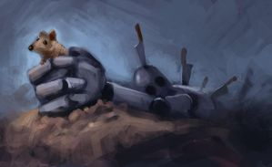 Speedpainting- catch the mouse by dangerousllama