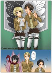 AOT: recruit by dejavil