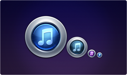 iTunes 10 Replacement Icon by ToffeeNut