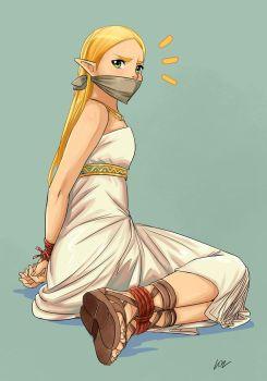 Princess Zelda BotW 2 by lostonezero