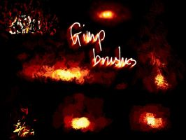 GIMP brushes by shalpin