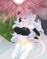 Android 21 by AlphaDeltaZeta