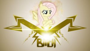 Bitch Like Fluttershy by Karl97