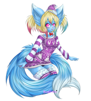 Christmas Sweater Aino by BunnyWhiskerz