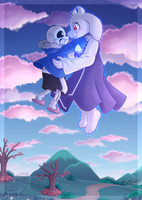 Trust - Soriel Week Year 2 Day 1 by MissHoloska
