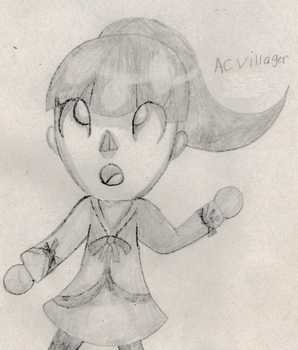 Villager FEMALE ''2015'' by Mewlover1418
