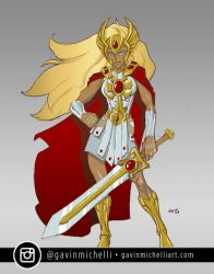 She-ra Animated Redesign by GavinMichelli